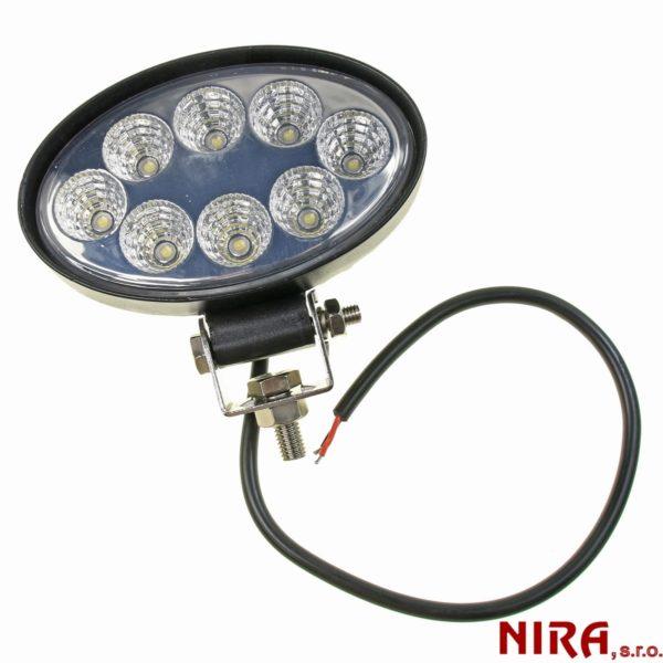 pracovné svetlo 12/24V 8 X LED